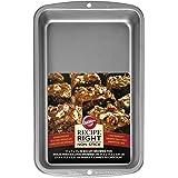 Wilton Biscuit/Brownie Tin, Recipe Right, Non-Stick, 22.6cm x 33cm (11in x 7in)
