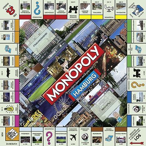 Winning Moves 40248 - Monopoly de Hamburgo (versión en alemán): Amazon.es: Juguetes y juegos