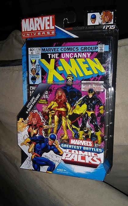 Marvel Super heroes X-Men CYCLOPSE classic Jim Lee uniform figure US Seller