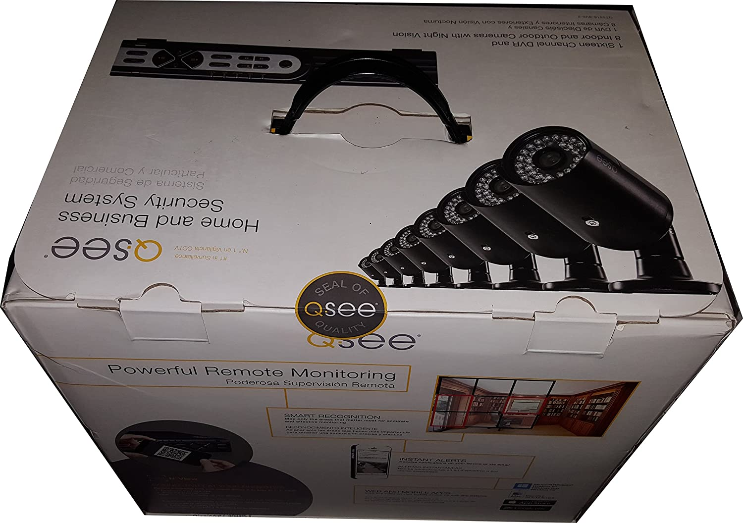 Amazon.com : Q-see Qt5816-8v6-2 16 Channel Security System ...