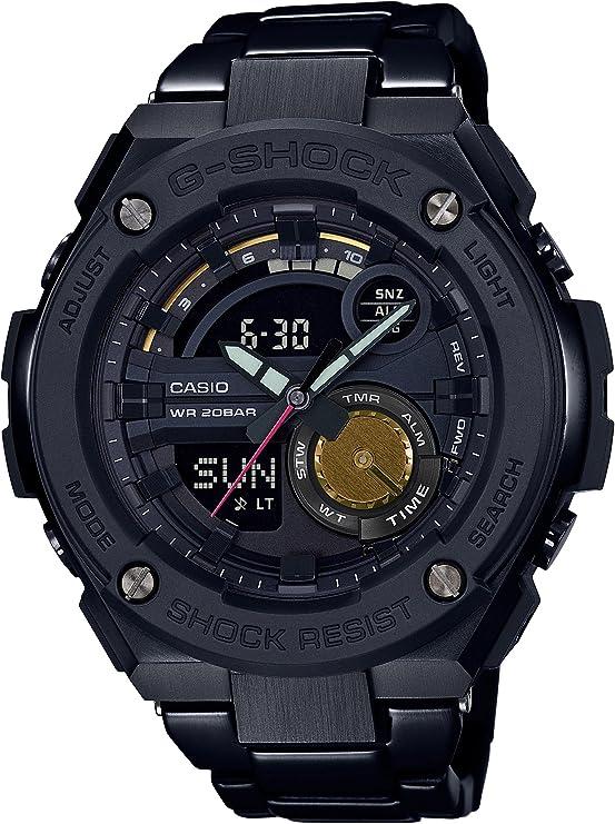 [カシオ] 腕時計 ジーショック G-STEEL ROBERT GELLER タイアップ モデル GST-200RBG-1AJR メンズ ブラック