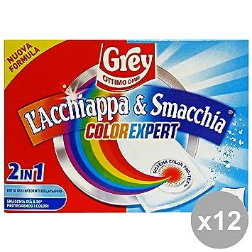 Juego 12 Grey Acchiappa & Quitamanchas Ia * 10 unidades limpiadoras Casa