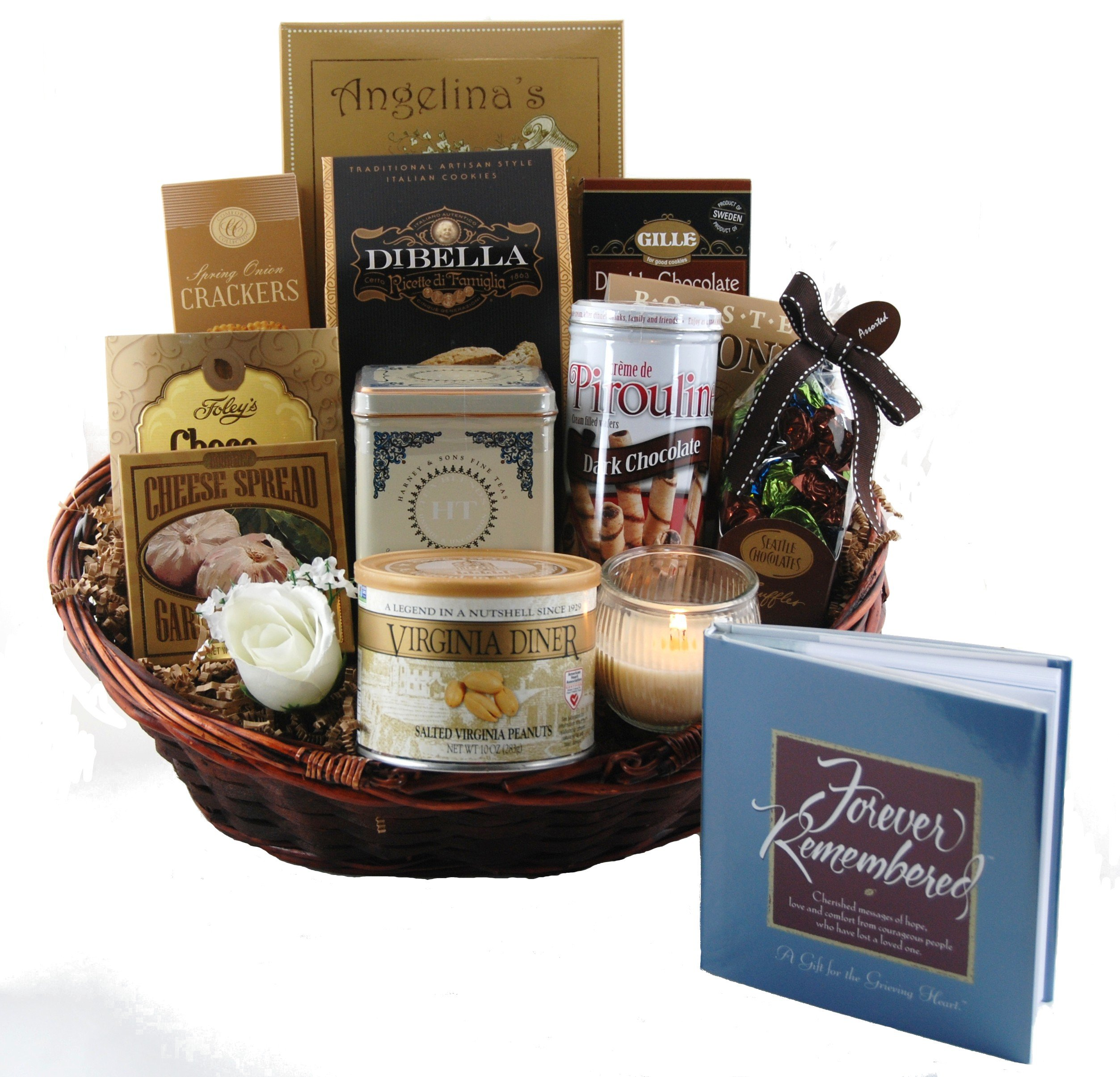Forever Remembered Sympathy Gift Basket - Small