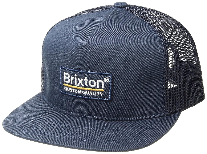 efb2bca5 Amazon.com: Brixton Men's Palmer Mesh Cap Burgundy/Black One Size: Clothing