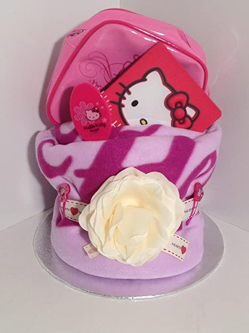 Lujo para niña de Hello Kitty Pamper toalla para tartas con Hello Kitty marco de fotos