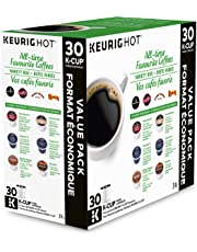 Keurig All-Time Favorite Coffees Variety Box K-Cup Single Serve Keurig Certified Recyclable K-Cup pods for Keurig brewers, 30 Count
