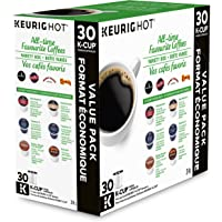 Keurig All-Time Favorite Coffees Variety Box K-Cup Single Serve Keurig Certified K-Cup pods for Keurig brewers, 30 Count