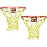 Queen Sports Basket Ball Net Premium quality Nylon Standard Size for Sports Training Practice and Fun