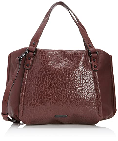 819eb5e820cc Fiorelli Womens Courtney Shoulder Bag FH8060 Burgundy  Amazon.co.uk ...