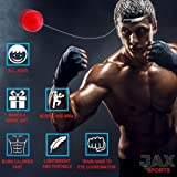 JAX Sports Boxing Reflex Ball, 2 Difficulty Level