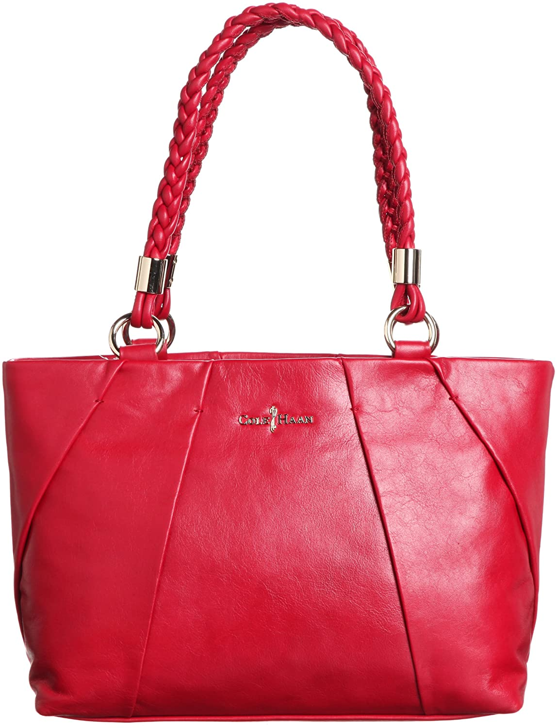 7d1a0233ad Amazon.com: Cole Haan Womens Adele Small Tote Shoulder Bag, Velvet Red, One  Size: Clothing