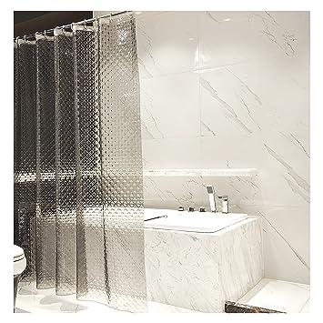 OTraki Duschvorhang 120 X 180cm Badvorhänge Fenster PVC Frei  Umweltfreundlich Waschbar Shower Curtains 3D Wasserdicht Anti ...
