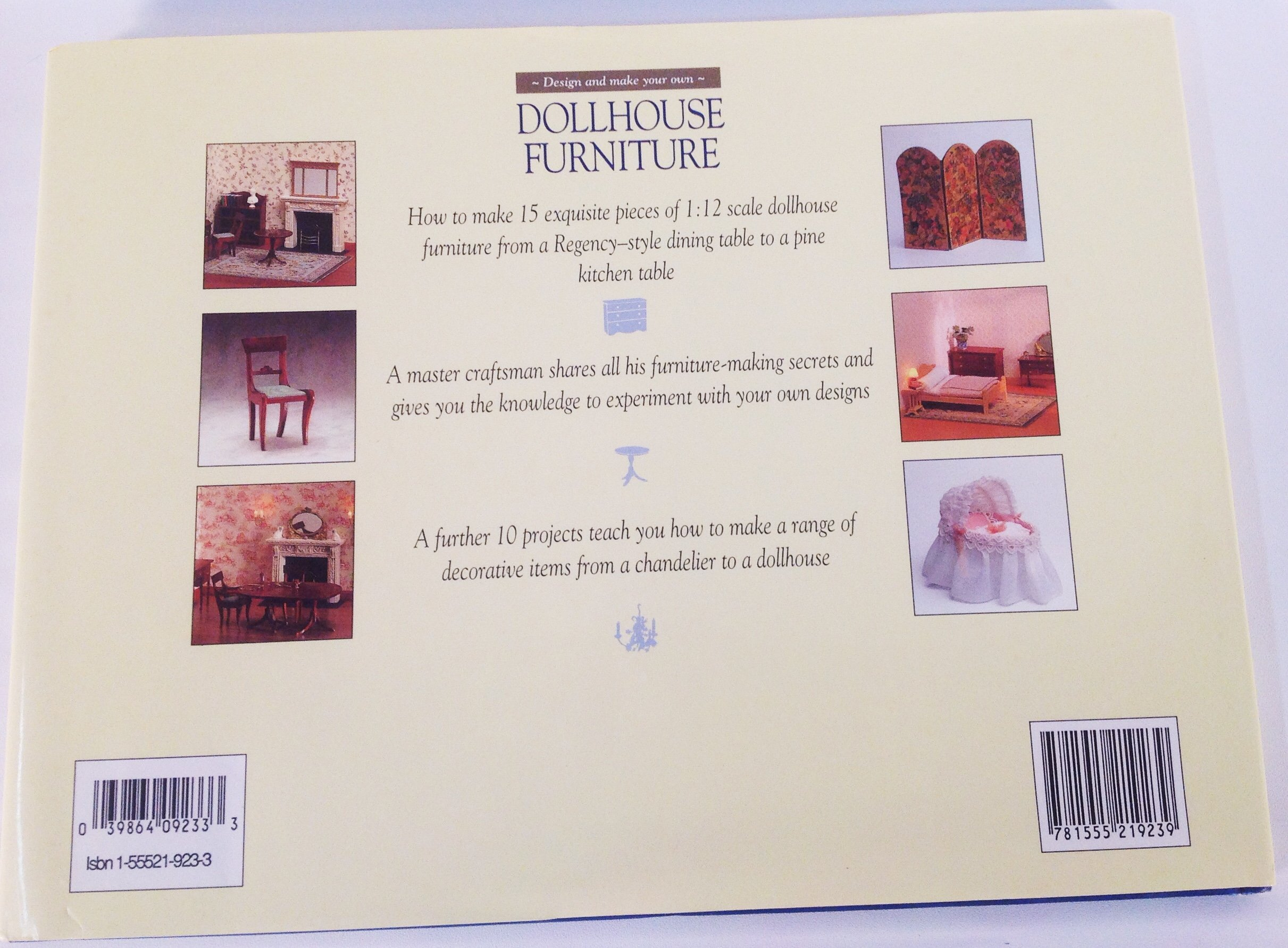 Design and Make Your Own Doll Furniture by Brand: Chartwell (Image #2)