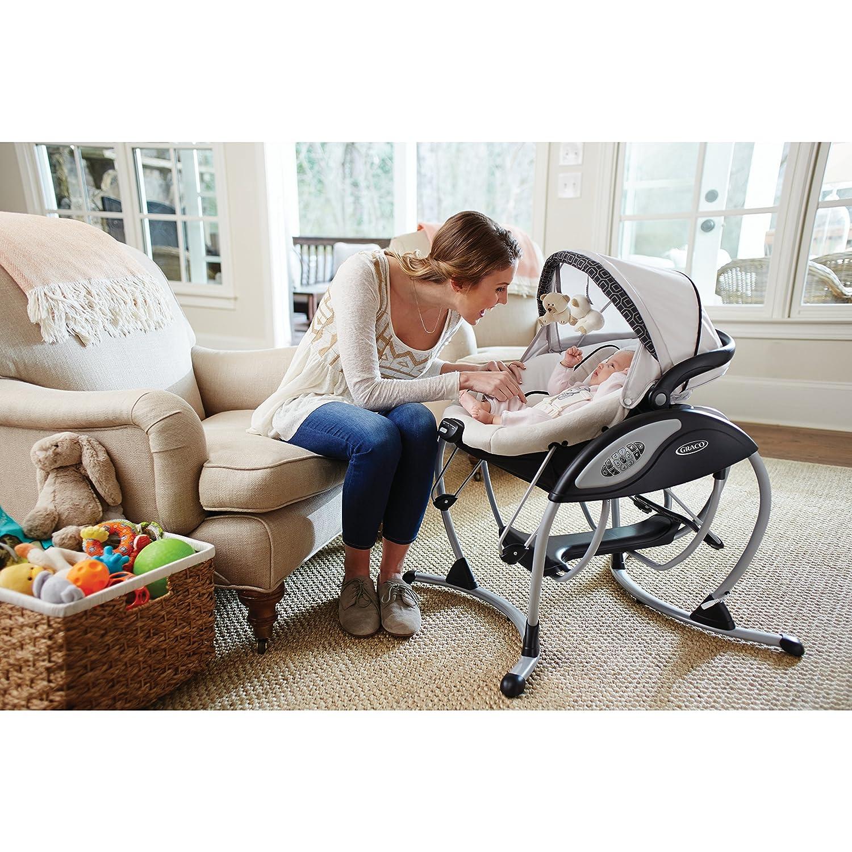 Amazon Graco Glider Elite Baby Swing Pierce Baby