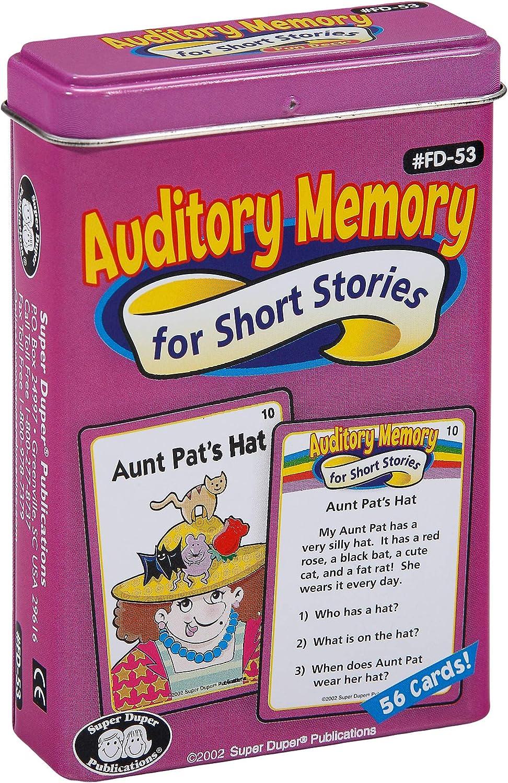 - Amazon.com: Super Duper Publications Auditory Memory For Short