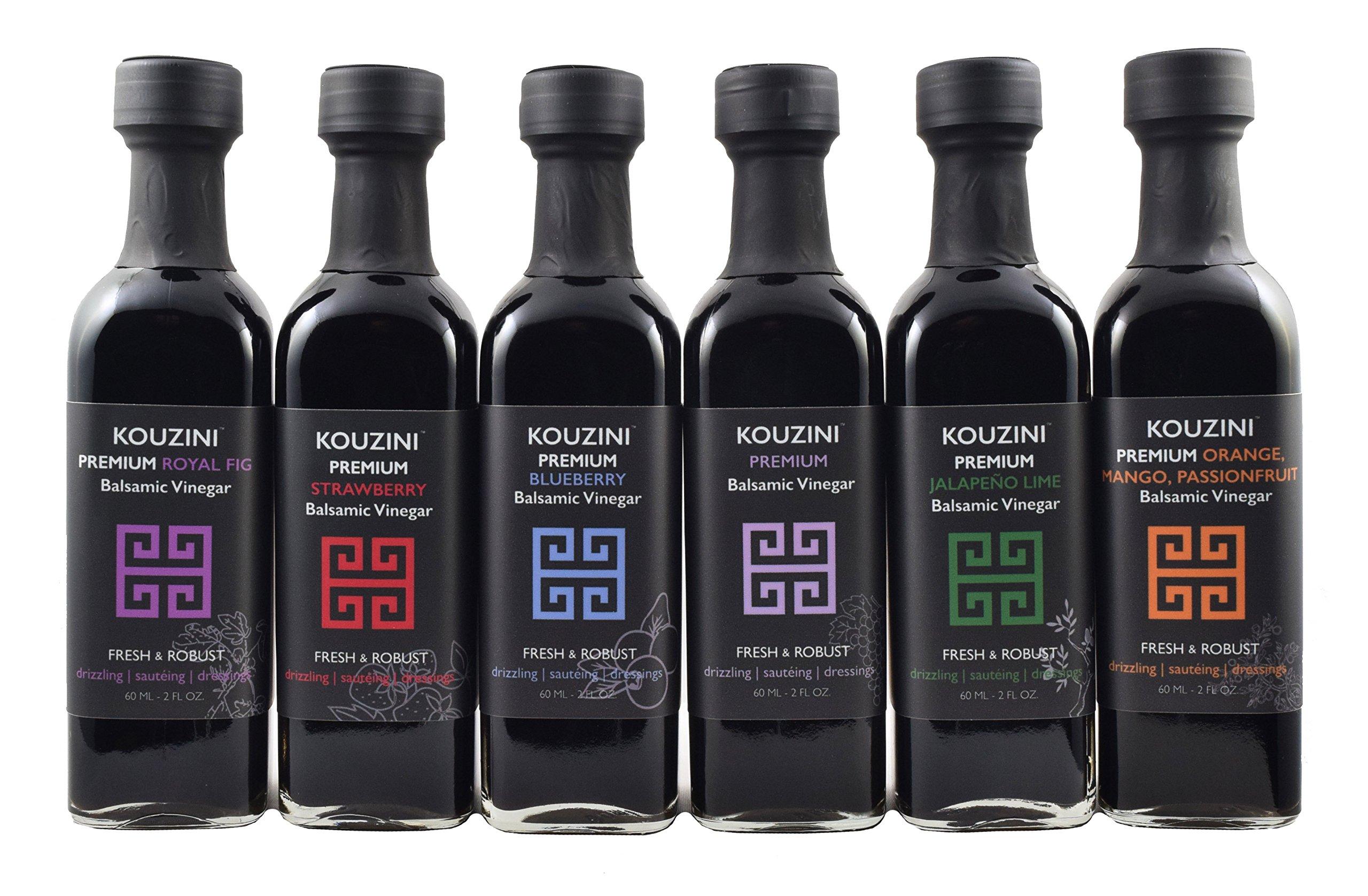 Kouzini Ultra Premium Balsamic Vinegar Mini 6-60ml Pack