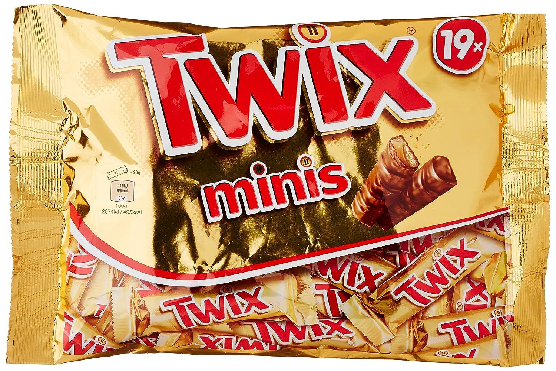 Twix Minis Bags 403g 19 St Amazoncouk Grocery