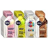 GU Energy Original Sports Nutrition Energy Gel, Assorted Caffeine-Free Flavors, 24 Count Box