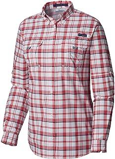 d509778fa08 Columbia Women's PFG Super Bahama Long Sleeve Shirt, Breathable, UV  Protection