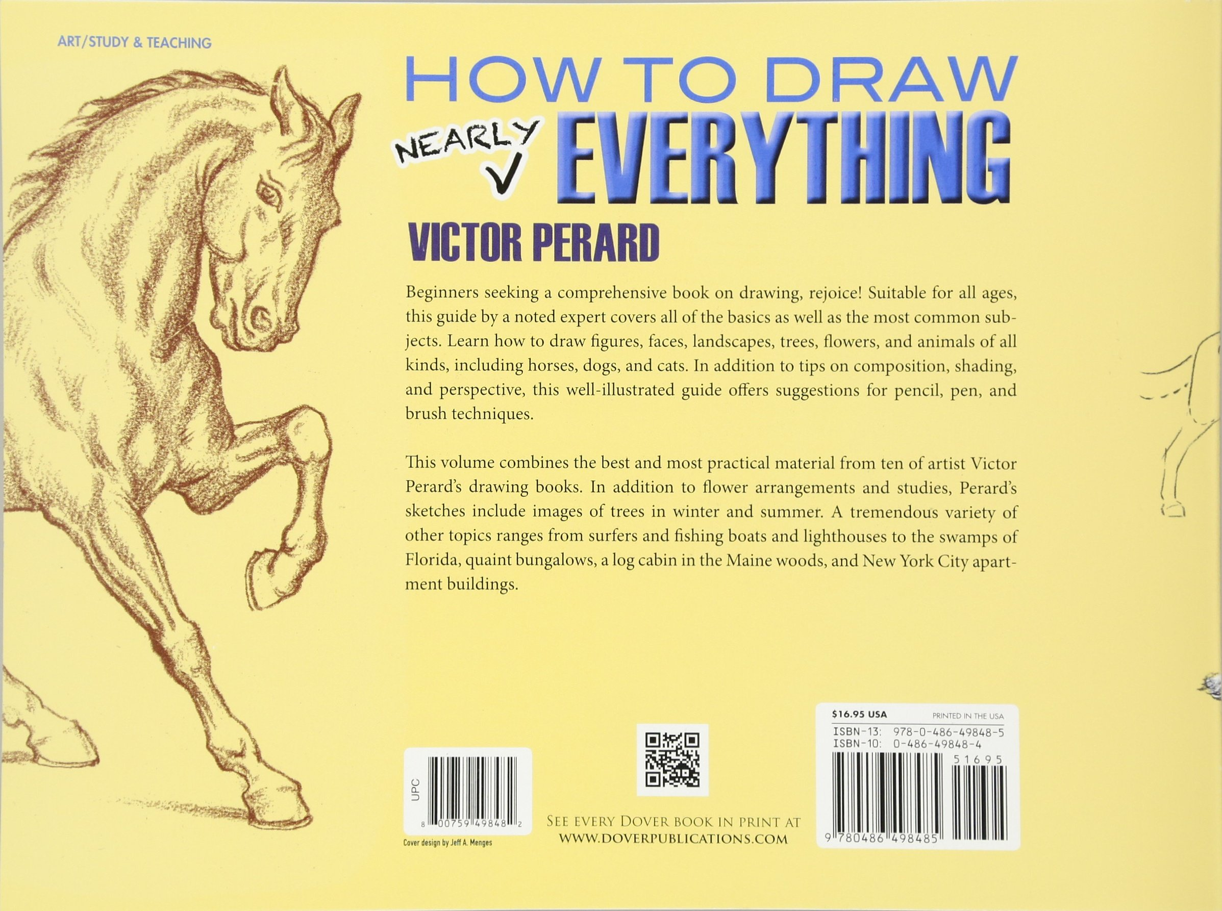 How to Draw Nearly Everything (Dover Art Instruction): Victor Perard ...