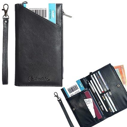 TraveLubes - Cartera RFID para Pasaporte, Organizador de Viaje, Funda para Tarjetas de identificación, Cartera, Pasaporte, Monedero, para ...