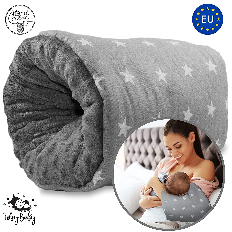 Mini Nursing Pillow on The go Small Baby arm Pillow When Breastfeeding and Feeding Bottles Breastfeeding Pillow Small Breastfeeding muff