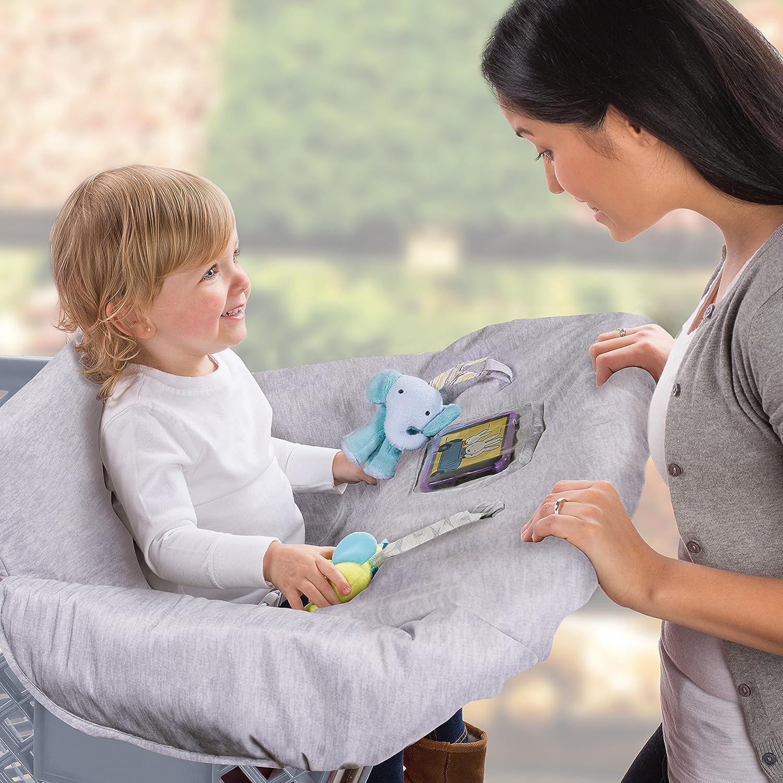 Elephant Summer Infant Cushy Cart Cover Heathered Grey