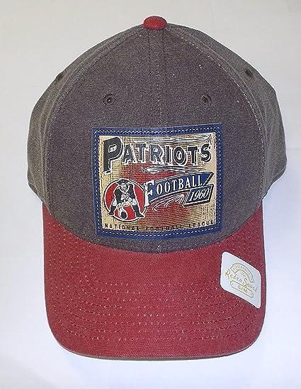 7dedf822 Reebok New England Patriots Brown Pro Shape Flex Hat (Small/Medium)