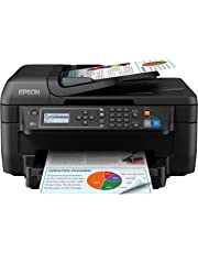 Epson Workforce WF-2750DWF - Impresora multifunción 4 en 1 (WiFi, inyección de Tinta), Color Negro