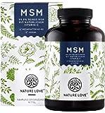 MSM Tabletten - 365 Stück (6 Monate). 2000mg MSM pro Tagesdosis. Mit natürlichem Vitamin C (Acerola). Ohne Zusätze. Laborgeprüftes Methylsulfonylmethan. Hochdosiert, vegan, hergestellt in Deutschland