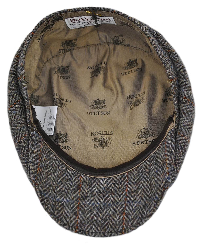 Stetson Bandera Harris Tweed Cap (58cm)  Amazon.co.uk  Clothing 372d7e8de8b5