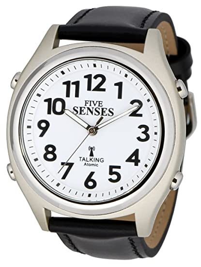 Atomic Parlante Reloj – se Five Senses Unisex Reloj Parlante (sens-rctk-p201
