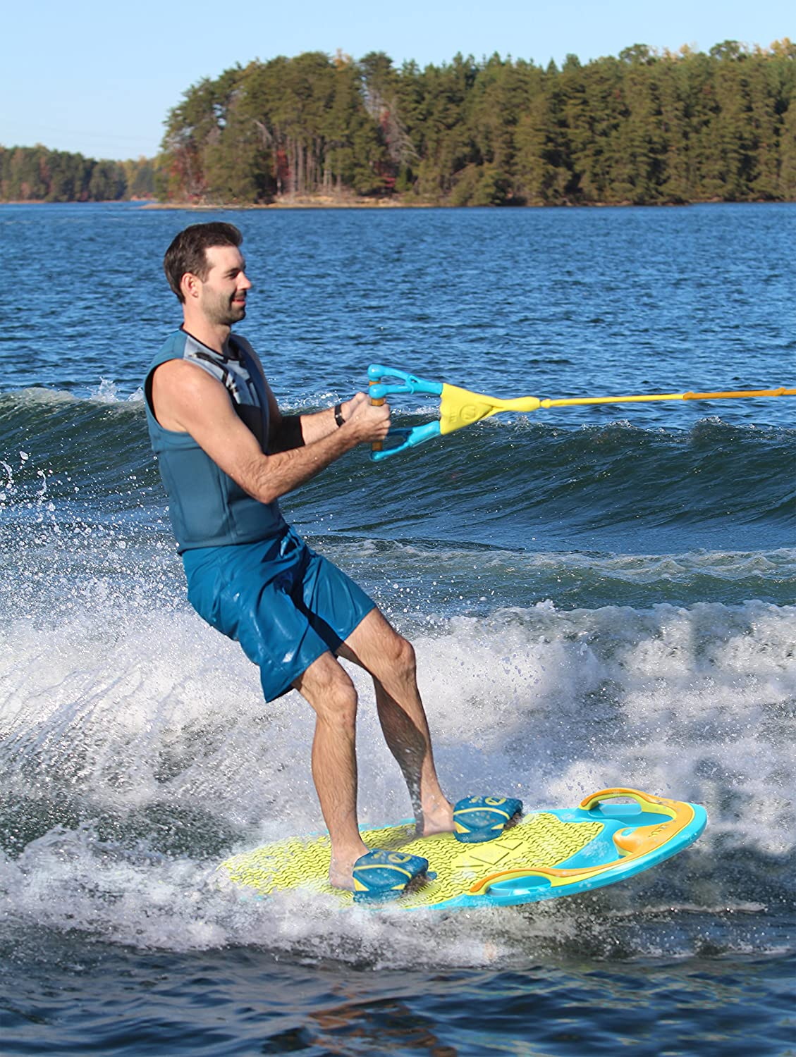 Water Board Sports >> Amazon Com Zup You Got This 2 0 All In One Watersports Board