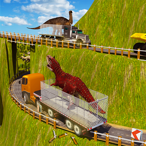 Angry Dino Transport Truck Simulator 3D: Animal Transporter Wild Dinosaur Games ()