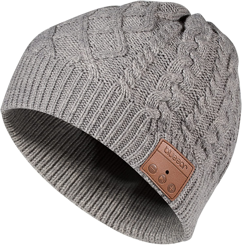 two-tone blues hat. Fine Lambswool knitwear skull capwatch hat Blue colour block beanie hat earth friendly accessory handmade winter hat