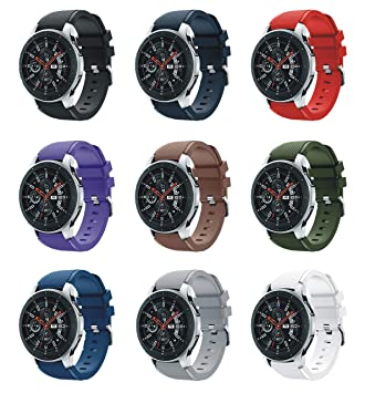 XingWangFa for Samsung Galaxy Watch (46mm) Straps Correas[9 Pack ...