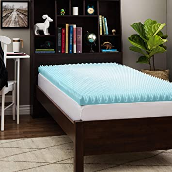 Amazon.com: Slumber Solutions Dorm 3 inch Twin XL Size Textured