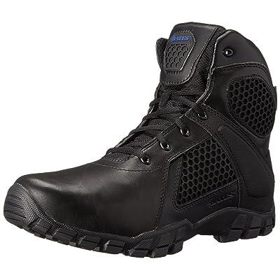Bates Men's 6 Inch Strike Side Zip Waterproof Tactical Boot: Shoes