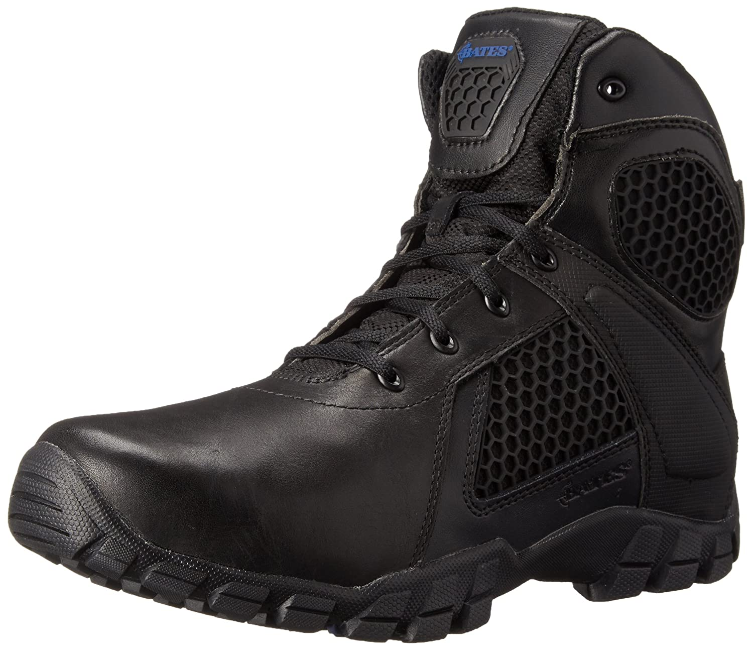 Bates Men's 6 Inch Strike Side Zip Waterproof Tactical Boot Bates Tactical Footwear 6