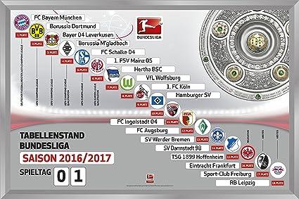Am Ball Com Magnettabelle Bundesliga 2017//2018