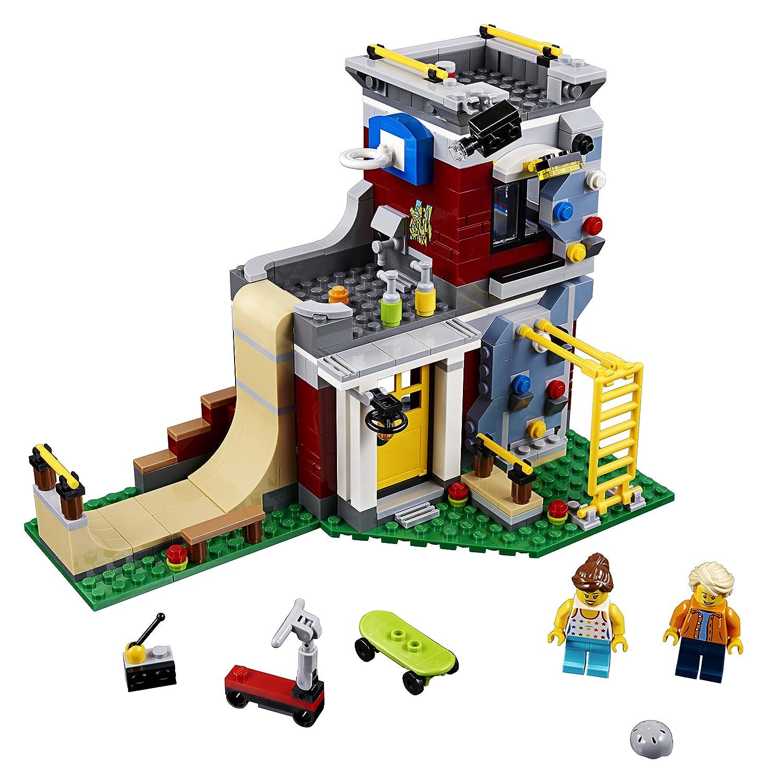 422 Piece LEGO Creator 3in1 Modular Skate House 31081 Building Kit