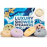 ZenTyme Moments Shower Steamers Aromatherapy Gifts for Women Who Has Everything, Shower Bombs with Essential Oils for Stress