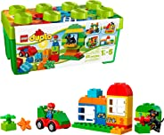 LEGO DUPLO All-in-One-Box-of-Fun Building Kit 10572 Open Ended Toy for Imaginative Play with Large LEGO bricks made for todd