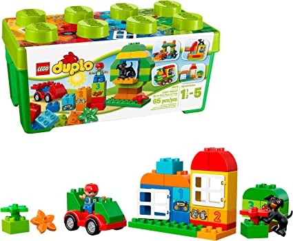 Lego Duplo Birthday Gift Present Surprise Box Brick Set  YOUR CHOICE OF COLOR