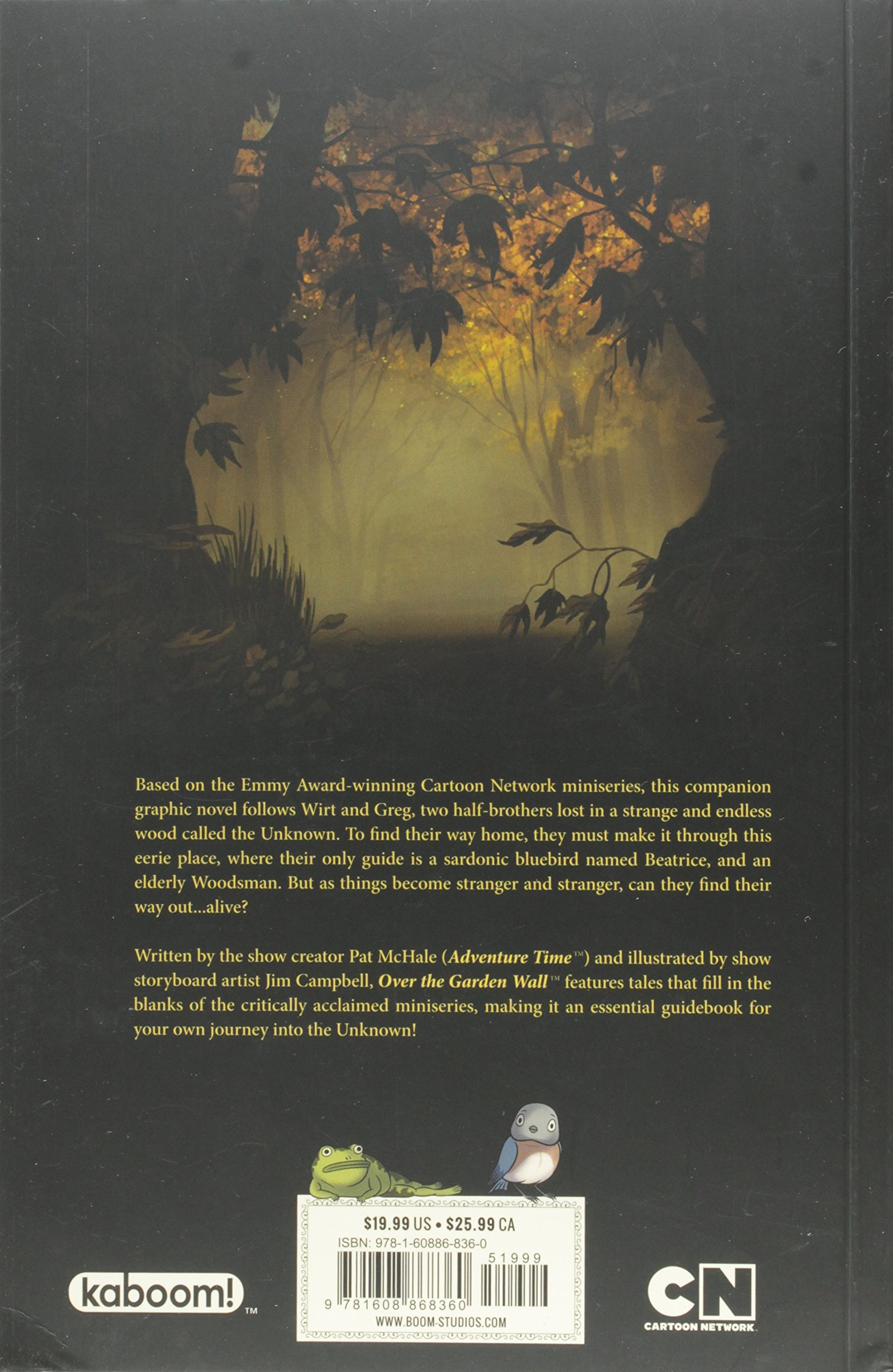Over The Garden Wall: Tome of the Unknown by Kaboom (Image #2)