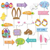 Easter Egg Hunt Props 20 Photo Booth Easter Party Accessory
