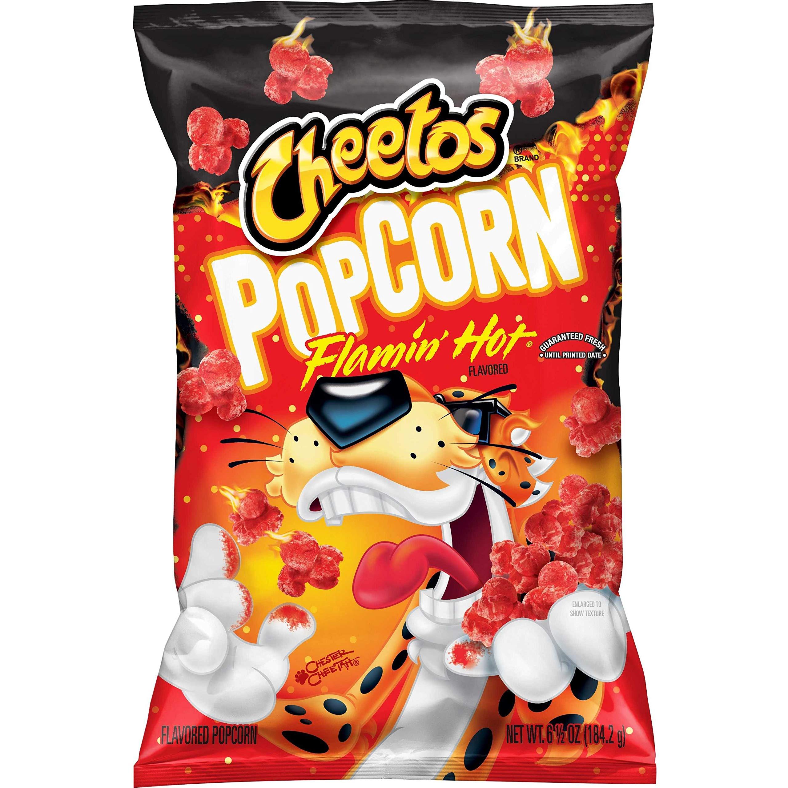Cheetos Flamin' Hot Flavored Popcorn, 6.5 Oz