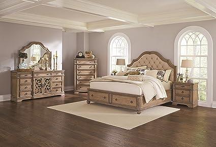 Amazon Ilana Collection Formal Luxurious Bedroom Antique Linen Beauteous Luxurious Bedroom