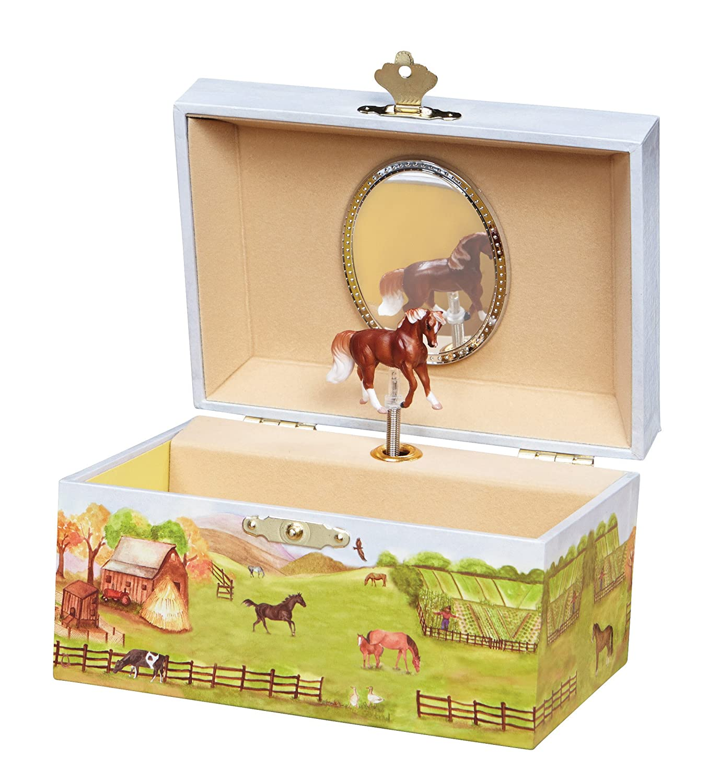 Enchantmints Horse Ranch Music Jewelry Box B1023