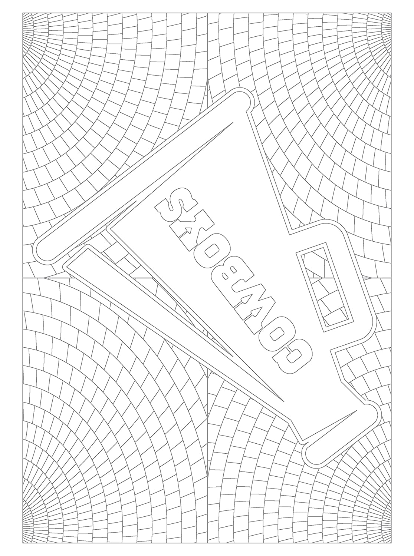 Único Libro De Colorear De Nfl Motivo - Enmarcado Para Colorear ...